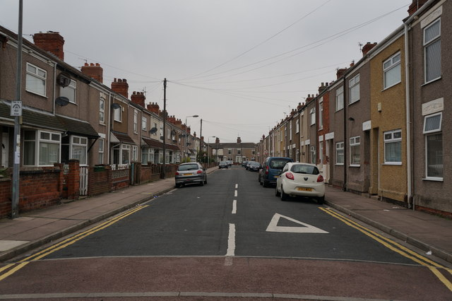 Donnington Street off Ropery Street, Grimsby