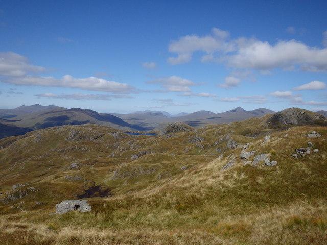 Ascending Meall Nan Tarmachan