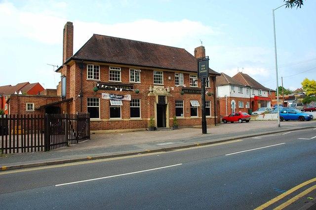 The Gun Tavern, 39 Newtown Road, Worcester