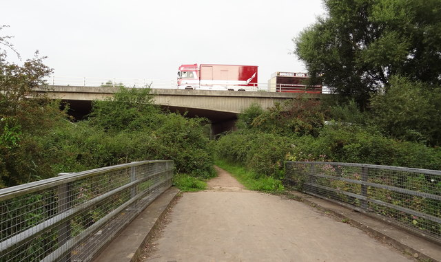 The path under the M5