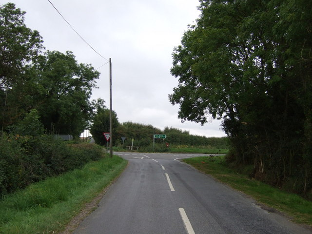 Approaching junction with the A46