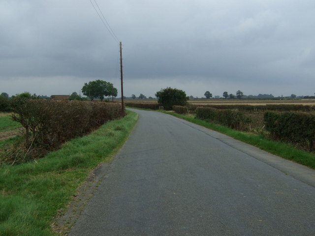 A bend in Lissingley Lane