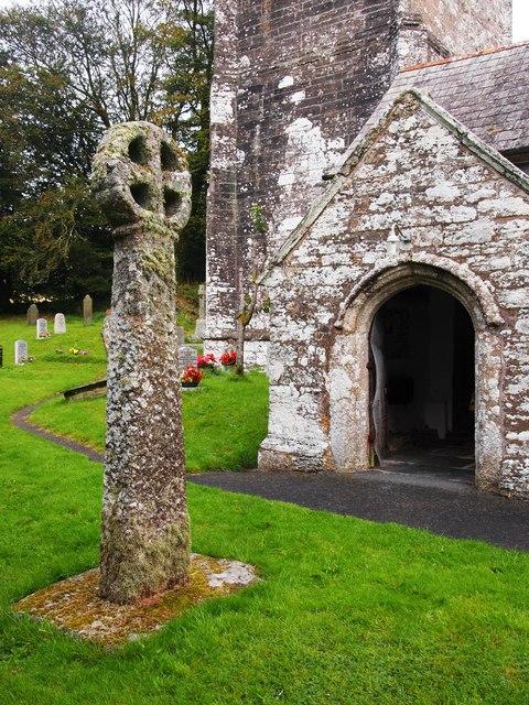 Medieval Cross,Laneast