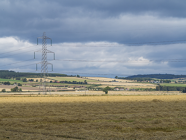 Farmland near Dunshalt