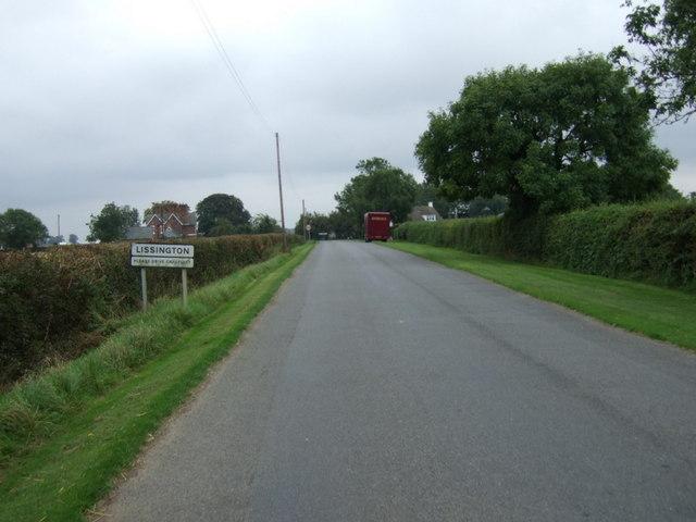 Entering Lissington