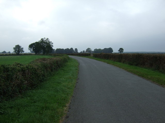 A bend in Wickenby Road