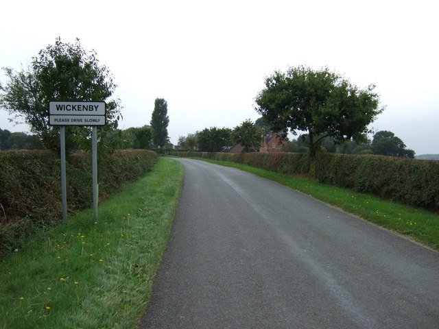 Entering Wickenby