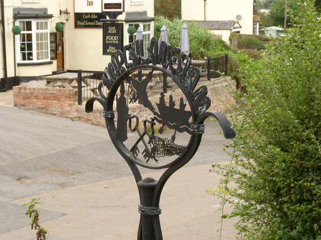 Church Laneham village sign