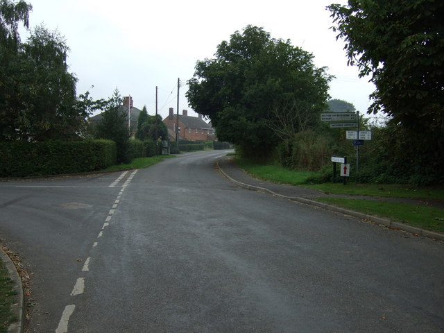 Road junction, Wickenby