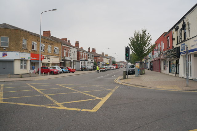 Hainton Avenue from Pasture Street, Grimsby