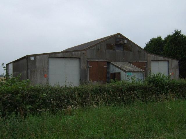 Farm buildings on Westlaby Lane