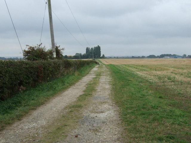 Track to Westlaby Farm