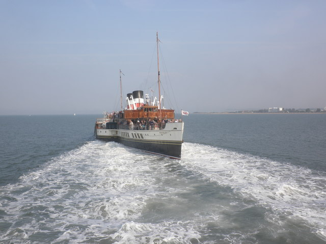 The 'Waverley' sets off from Minehead, to Penarth