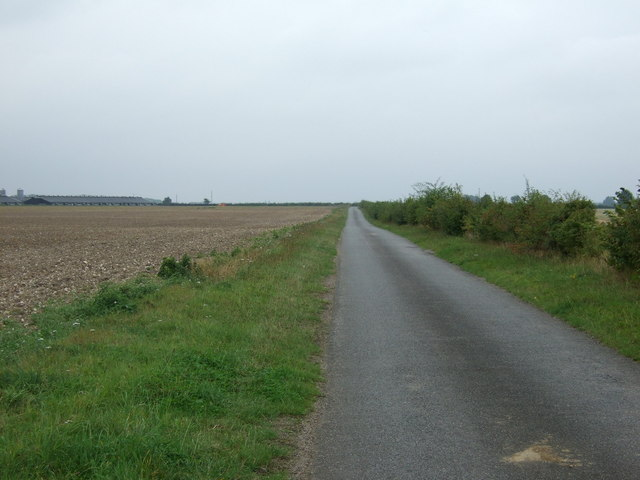 Lane heading south west, Westlaby