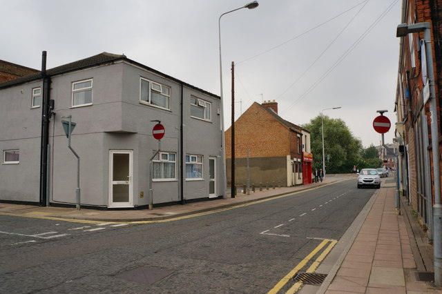 Pasture Street at Sheepfold Street, Grimsby