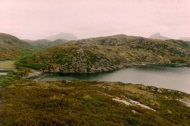 Cuil Lochain from Rubha a' Bhrocaire