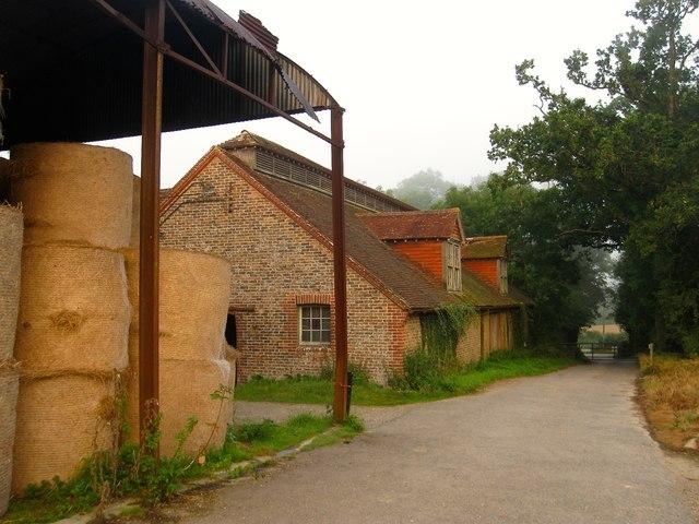 Barns, Garston's Farm