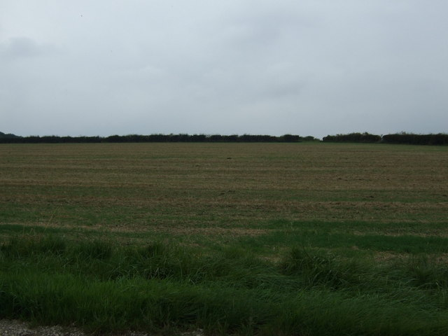 Farmland west of the B1399