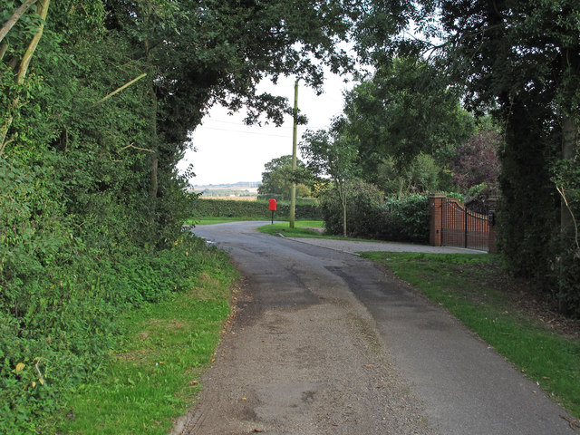 Looking to the junction with Tudwick Road, Tolleshunt D'arcy