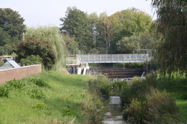 Gundry Weir with fish pass
