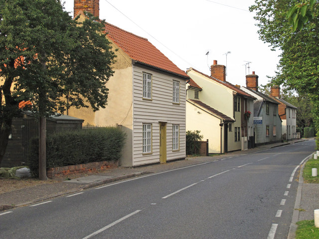 Housing in Church Street, Tolleshunt D'Arcy