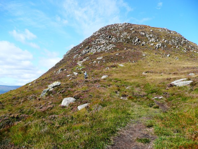 The south ridge of Mullach Mor on Holy Isle
