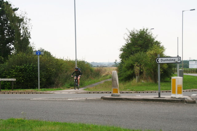 Look right, look left: junction of A15 and A1500