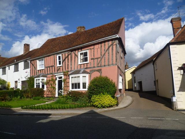 House in High Street, Lavenham