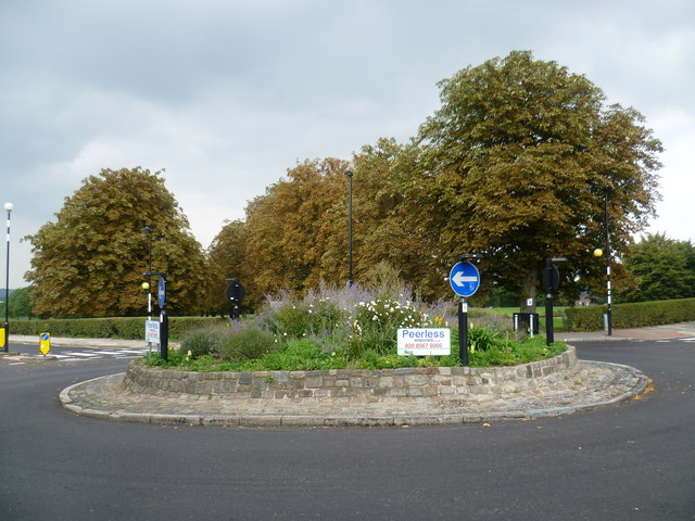 Roundabout opposite Scotch Common