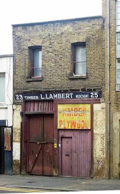 Former timber merchant, Hoxton Street