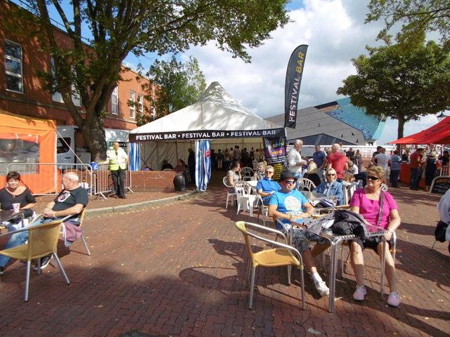 Festival Bar on Nelson Street, Hull