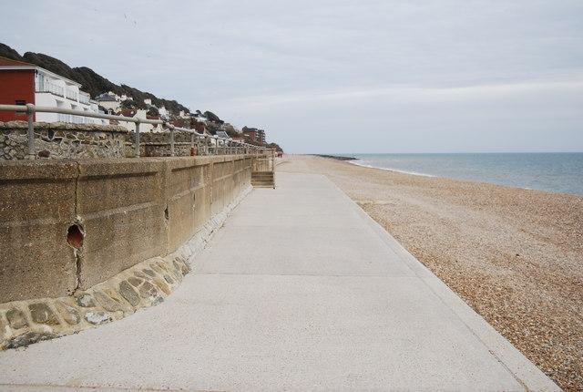Seawall, Sandgate