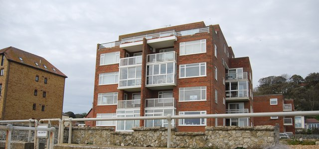 Seafront flats, Sandgate