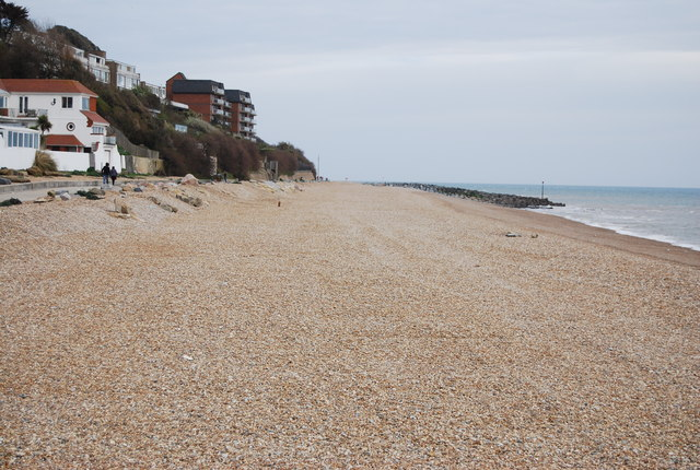 West Folkestone beach