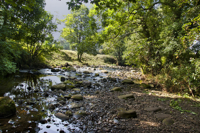 The River Brock at Walmsley Bridge