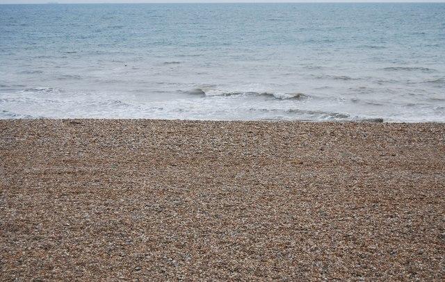 West Folkestone beach