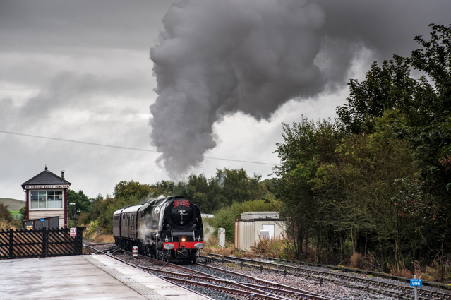 Duchess of Sutherland at Hellifield