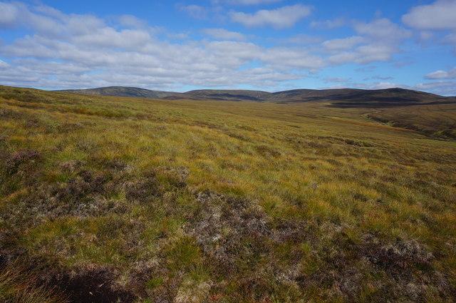 High Mooland view
