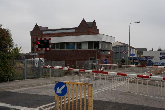 Pasture Street Level Crossings, Grimsby