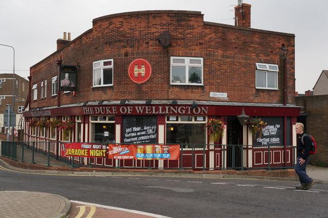 The Duke of Wellington on Pasture Street, Grimsby