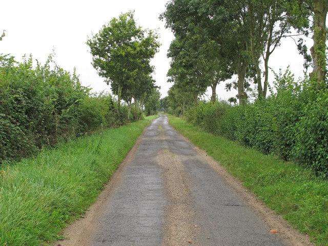Badingham Road, Laxfield