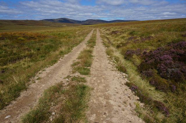 Estate track, Gleann a' Chrombaidh