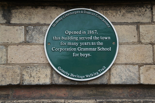 The former Corporation Grammar School