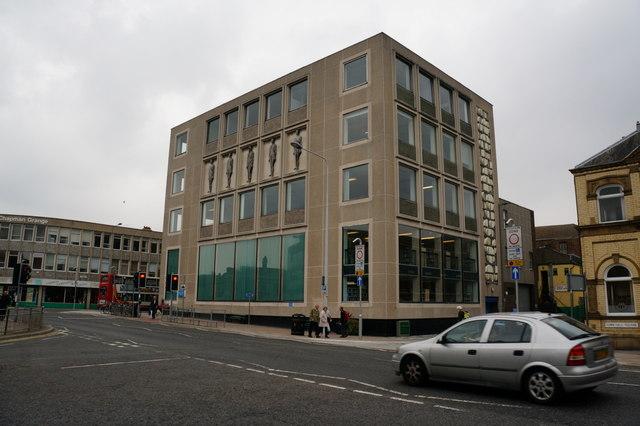 The Library on Osborne Street, Grimsby