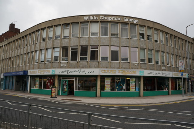 Shops on Osborne Street, Grimsby