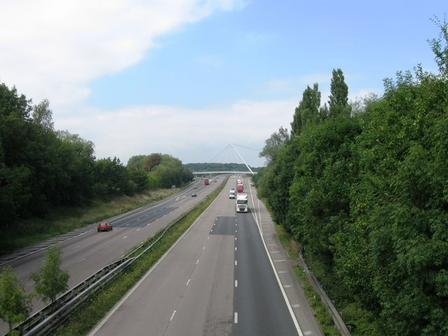 M20 looking west