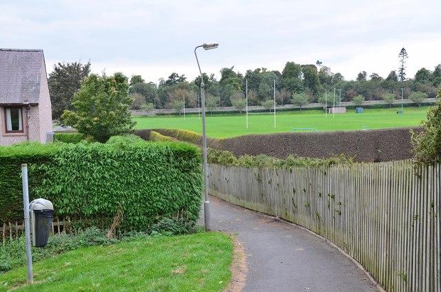 Path near Croft Park, Kelso