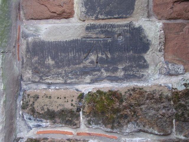 Benchmark on All Saints Church