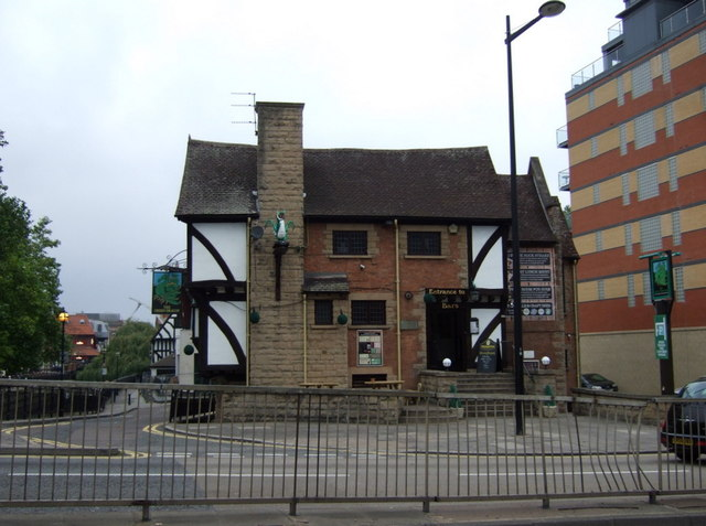 The Green Dragon pub, Lincoln