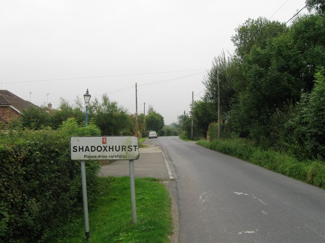Entrance to Shadoxhurst